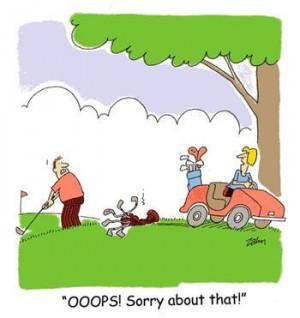 Golf sex puns