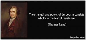 More Thomas Paine Quotes