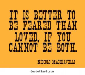 Niccolo Machiavelli's Famous Quotes