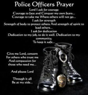 All Graphics » police officer prayer