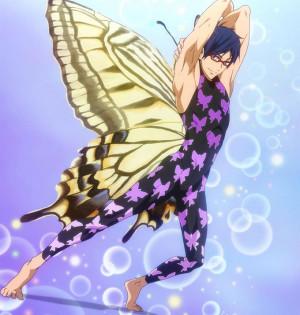 Iwatobi swim club rei