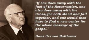 Hans urs von balthasar famous quotes 2