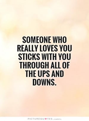 Love UPS and Downs Quotes