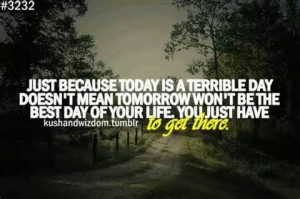 Terrible day
