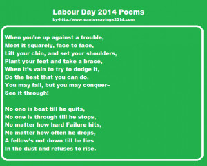 Happy Labour Day 2015 Poems, Poetry, Songs, Speeches, May Day Facebook ...