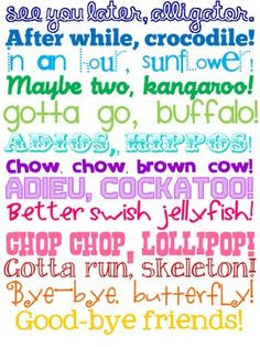 Adorable for the classroom door! Cute sayings for getting kids ready ...