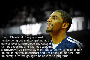 cleveland cavaliers point guard kyrie irving in the wake of rumors ...