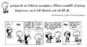 Bill Watterson Calvin And Hobbes Quotes Calvin & hobbes classic bill