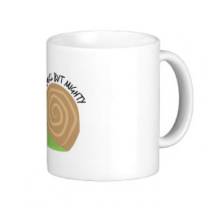 Small But Mighty Classic White Coffee Mug