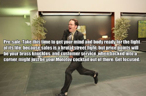 Sales Tips from Dwight Schrute