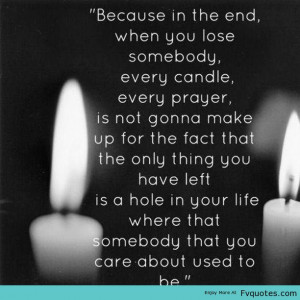 sad quotes about death