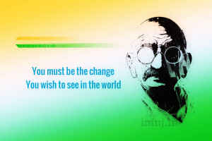 Gandhi Jayanti Wallpapers, Mahatma Gandhi Quotes Images