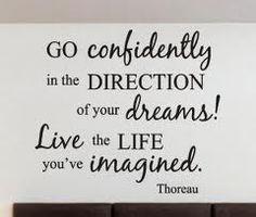 Thoreau quote - graduation speech