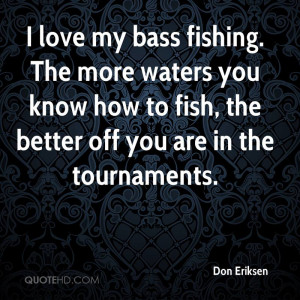 Fishing Quotes About Love
