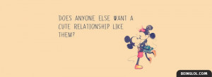 Cute Relationship Profile Facebook Covers