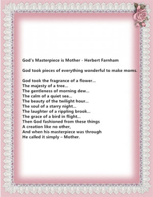 Meaningful Christian Happy Mother's Day 2015 Poems For Mother In Law
