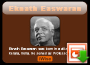 Eknath Easwaran quotes