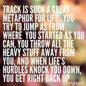 Track Hurdle Quotes