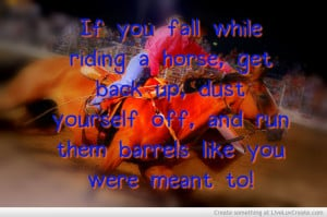 Barrel Racing Picture by Alyssa Campbell - Inspiring Photo