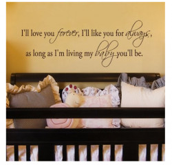 nursery wall quotes and sayings for the baby's room. Wall quotes ...