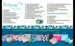 31 Ways to Use Your Thermal Tote and A Year Full of Uses