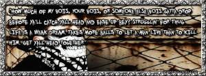 Girl Gangsta Quotes Tumblr Gangsta timeline cover: