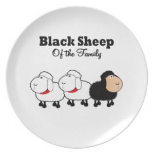 Black Sheep Plates