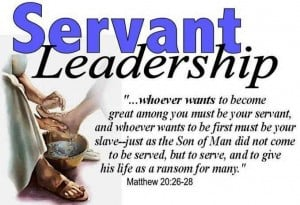 do not desire to be the principal man in the church be lowly be humble ...