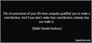 More Rabbi Harold Kushner Quotes