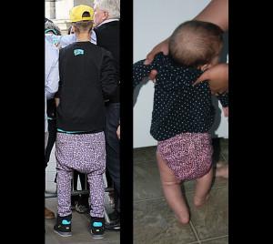 Justin Bieber Diaper Pants