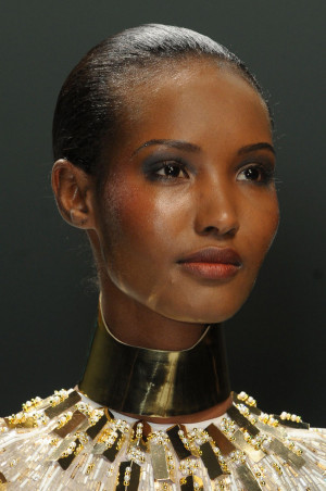 Fatima Siad is a Somali-Ethiopian fashion model. Raised in Boston ...