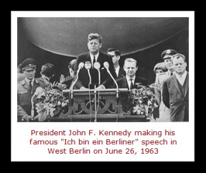 famous quotations associated with today's date is a line President ...