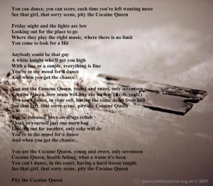 Poetic Justice: Cocaine Queen