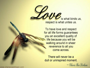 Free Spirit Quotes To Get Success: Love Is All The Way You Blessing Me ...