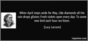 More Lucy Larcom Quotes