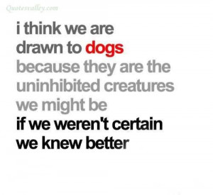 what dogs think quotes - Bing Images