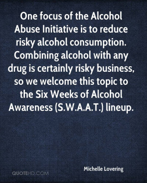 Quotes About Alcohol Abuse