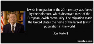 the Holocaust, which destroyed most of the European Jewish community ...