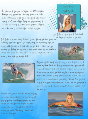 soul surfer by bethany hamilton book review