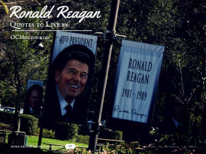 Home events Ronald Reagan Quotes to Live By from his Presidential ...