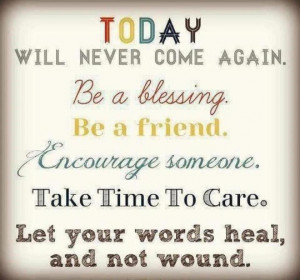Be a blessing ♥