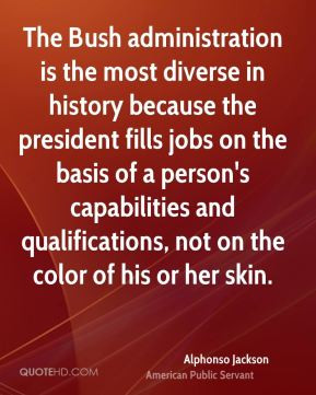 ... capabilities and qualifications, not on the color of his or her skin