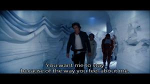 Han Solo quote to Princess Leia