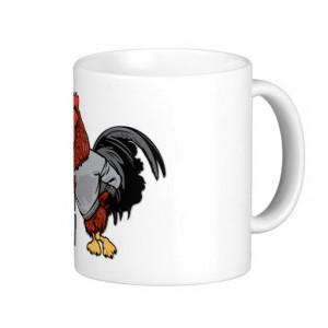 BIG Rooster Chicken - Funny Innuendo Coffee Mug