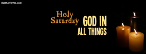 Holy Saturday facebook profile cover Photo