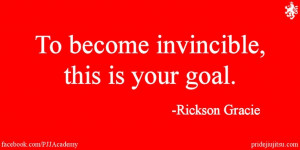 Invincible Rickson Gracie