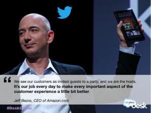 Jeff Bezos, CEO of Amazon.com #customerservice #quotes