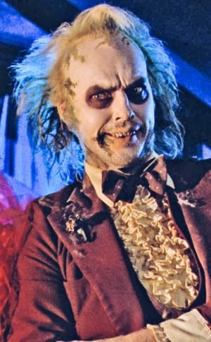 Michael Keaton as Beetlejuice, 1988.