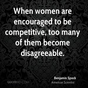 Benjamin Spock Women Quotes
