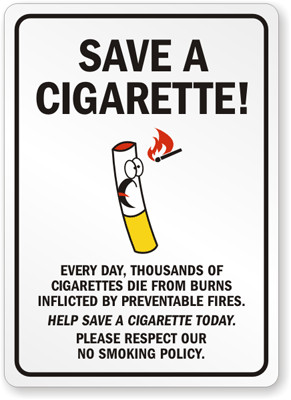 Funny Quit Smoking Posters You Probably Haven't Seen